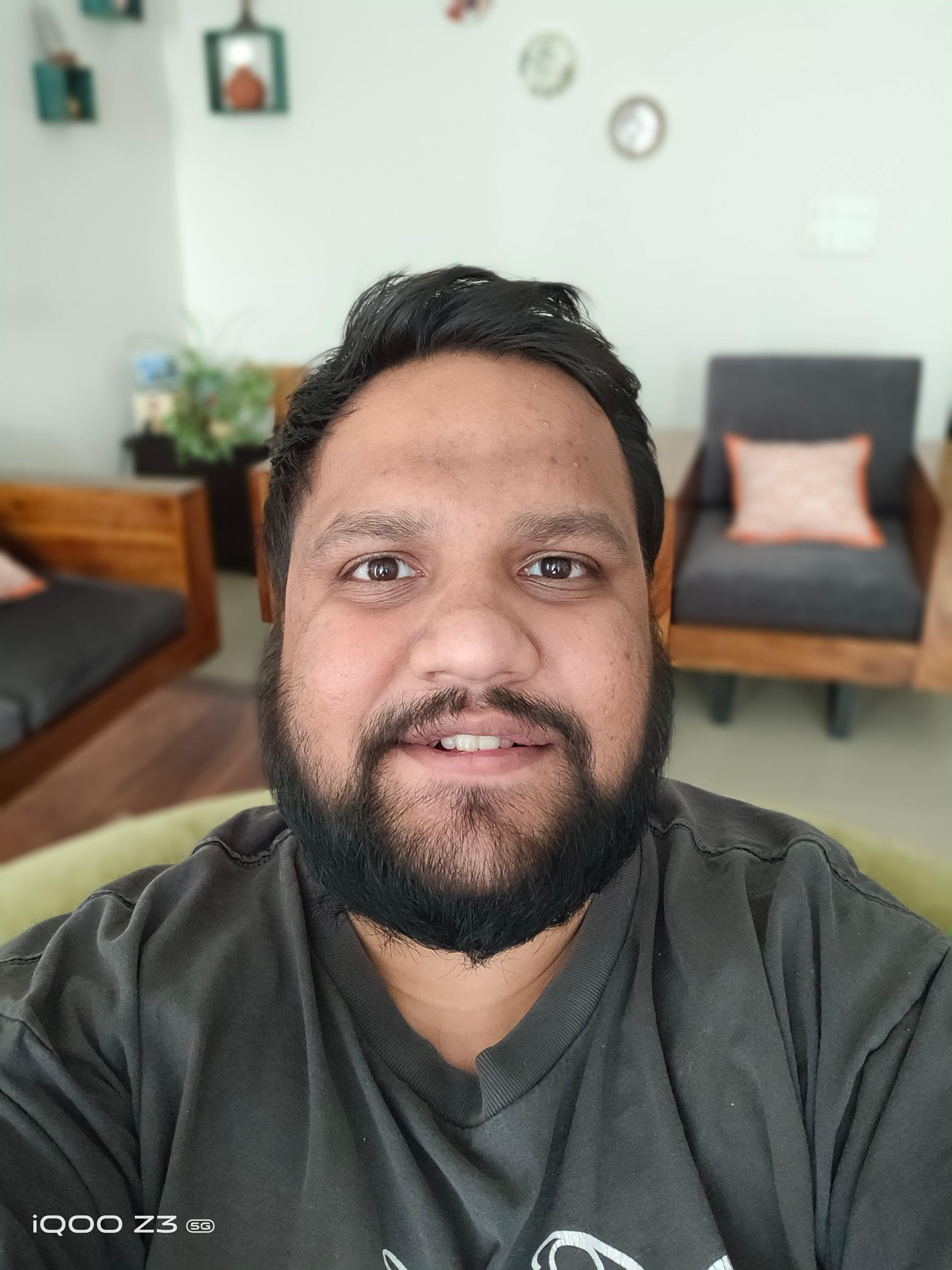 iQOO Z3 5G Camera Selfie Portrait