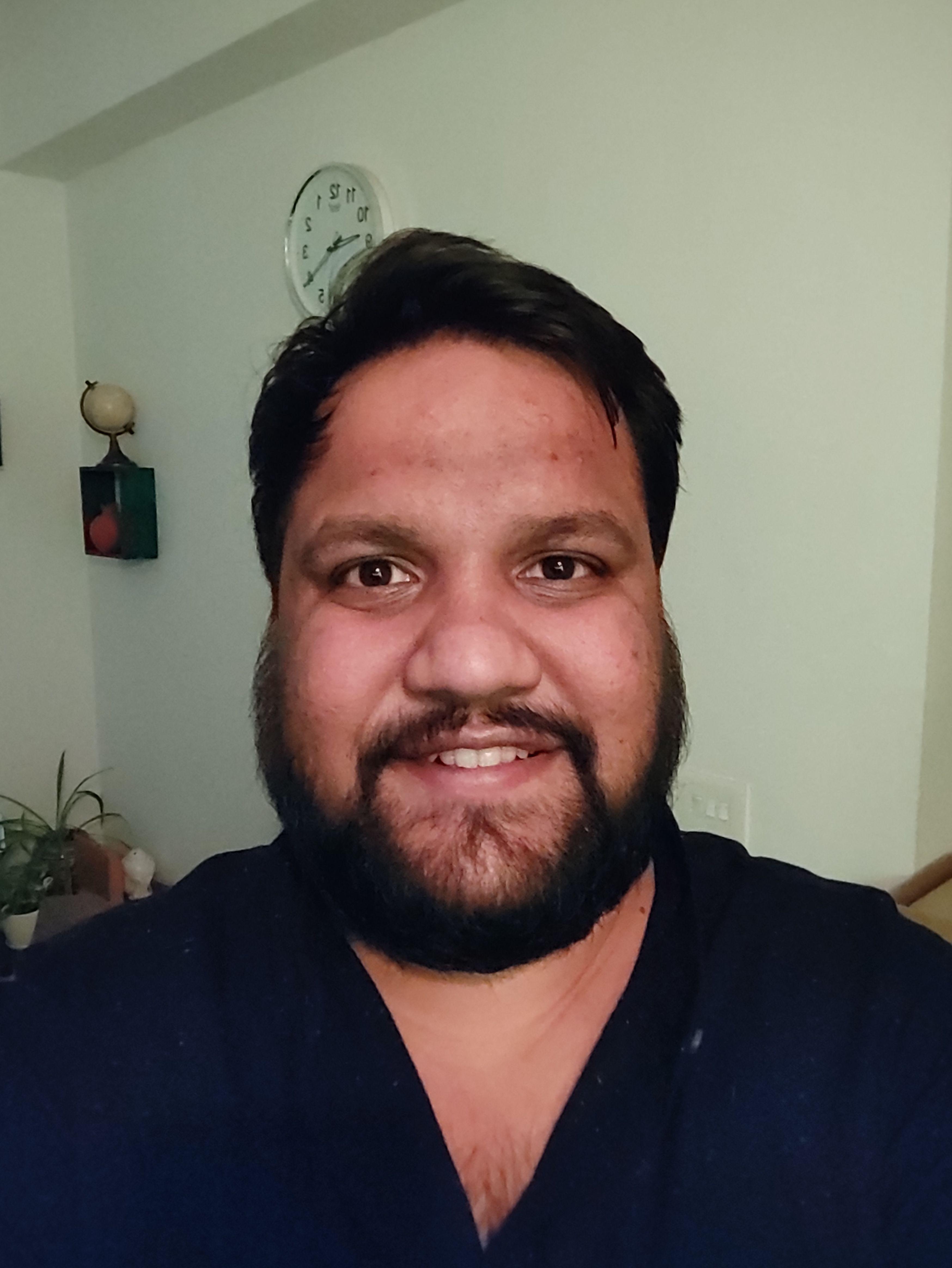 Mi 10i Camera Low Light Selfie