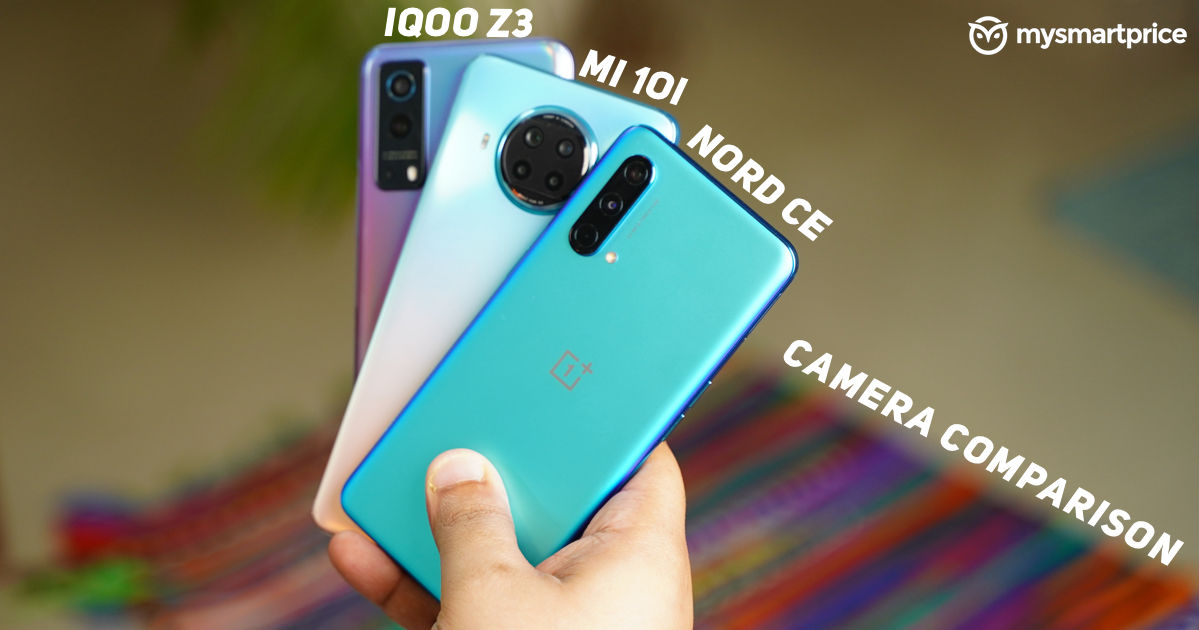 OnePlus Nord CE 5G vs iQOO Z3 5G vs Mi 10i