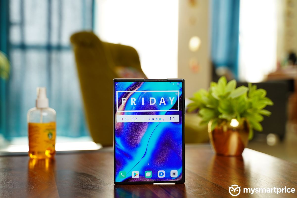 OPPO X 2021 front