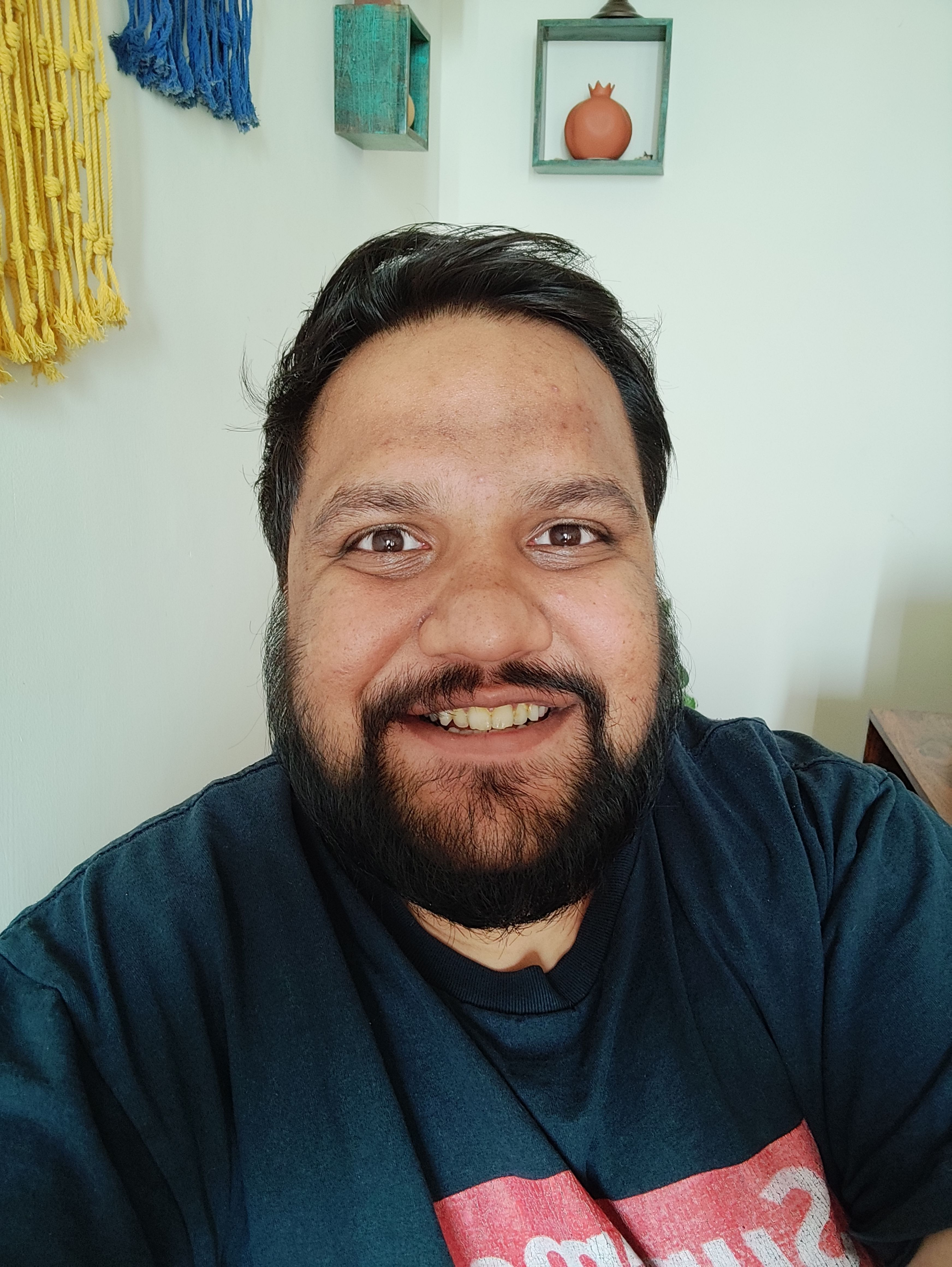 Redmi Note 10 Pro selfie