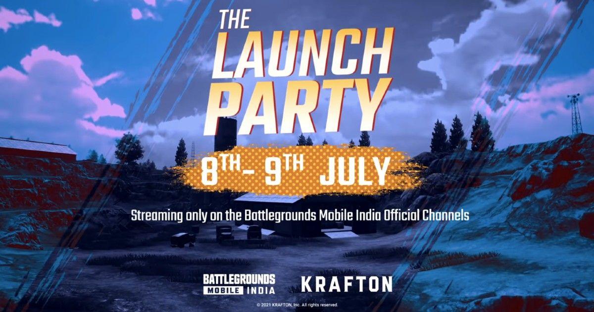 BGMI Launch Party