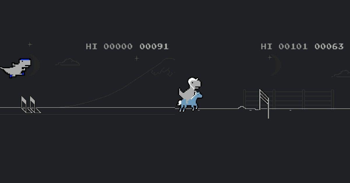 Chrome dinosaur game