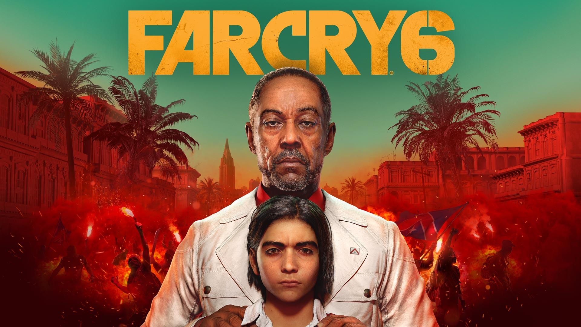 Far Cry 6 Cover Art
