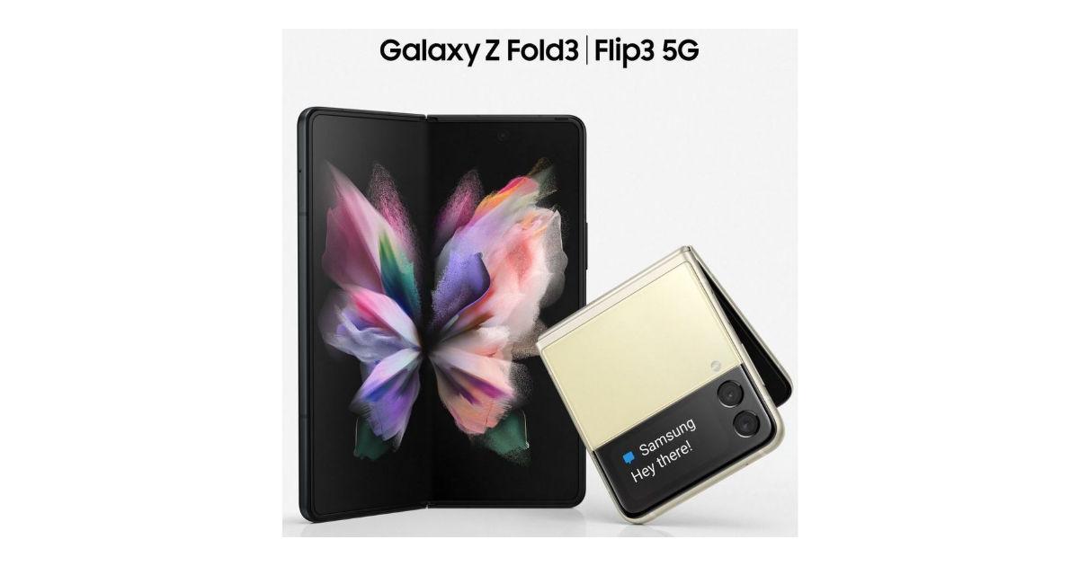 Samsung Galaxy Z Fold 3, Samsung Galaxy Z Flip 3