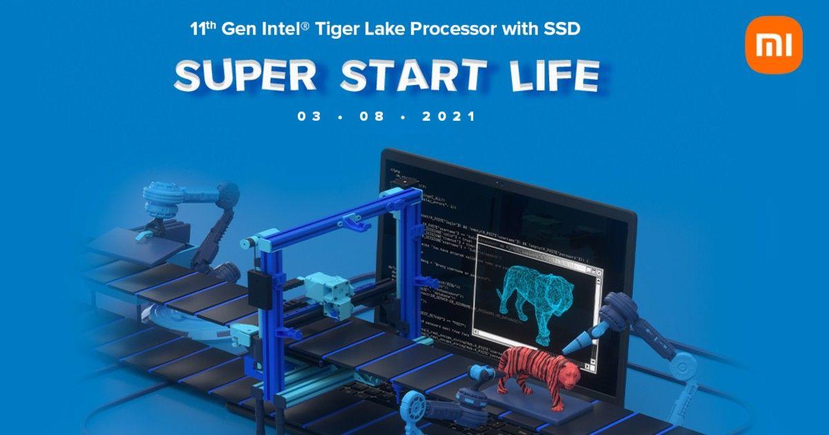 RedmiBook 11th gen Intel processors
