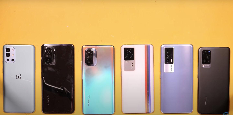 Battery Test mid range phones