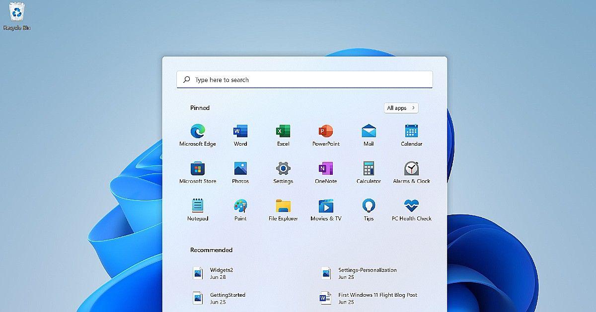 Windows 11 Insider Preview Dev 22000.65