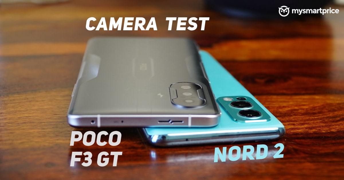 Poco F3 GT vs OnePlus Nord 2 Camera Comparison