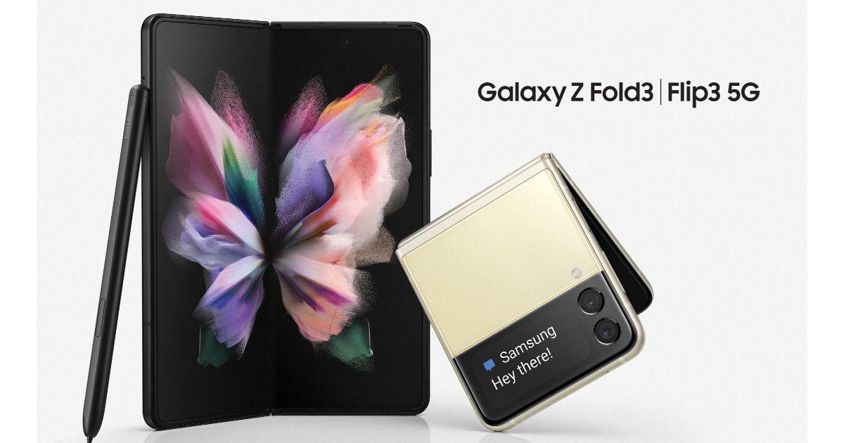 Samsung Galaxy Z Fold 3, Samsung Galaxy Z Flip 3 5G