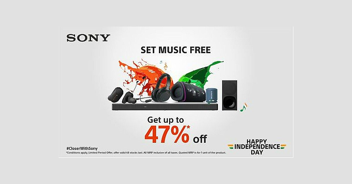 Sony Independence Day Sale