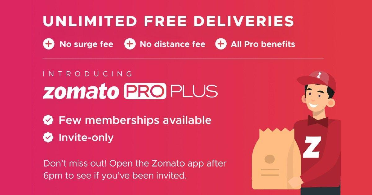 Zomato Pro Plus