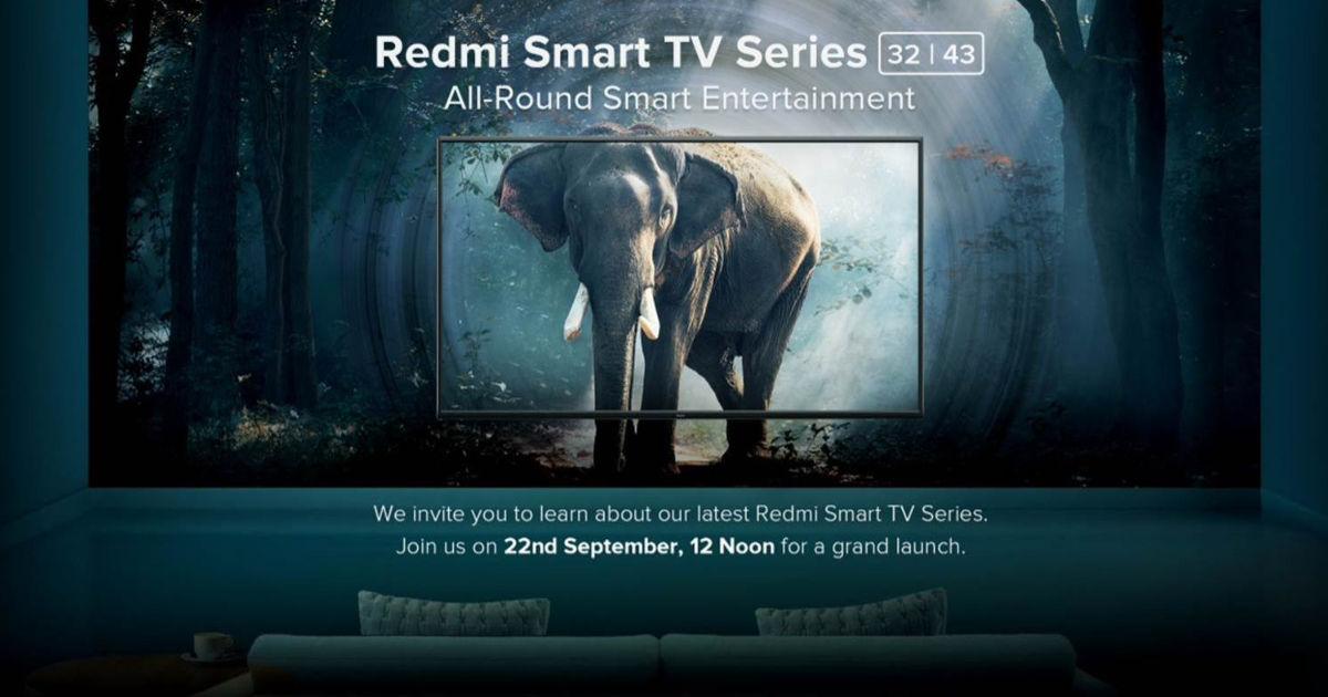 Redmi smart TV launch
