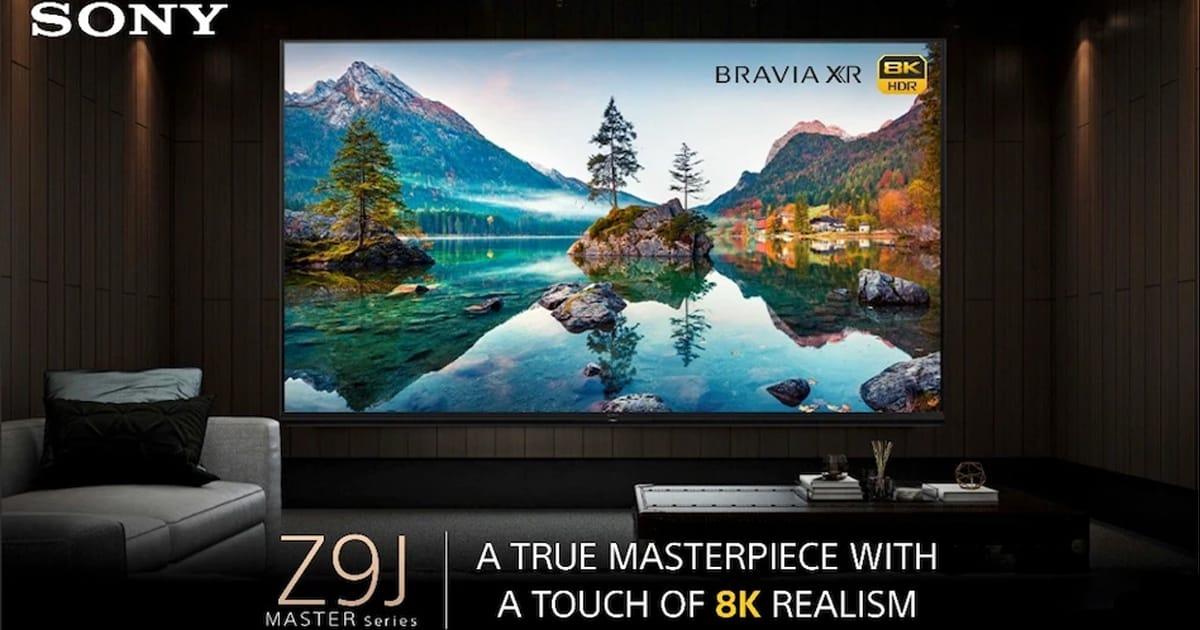Sony Bravia XR Master Series 85Z9J 8K