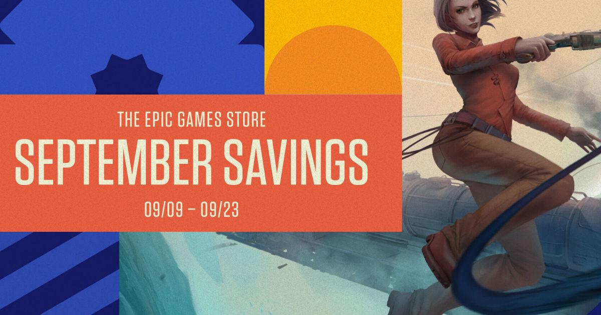 Epic Games Store September Savings 2021