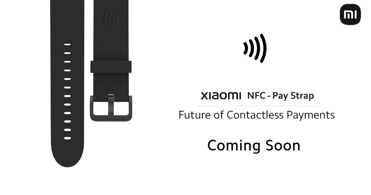 Xiaomi Mi Pay NFC watch straps