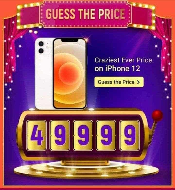 iPhone 12 under Rs. 50,000 during Big Billion Days Sale