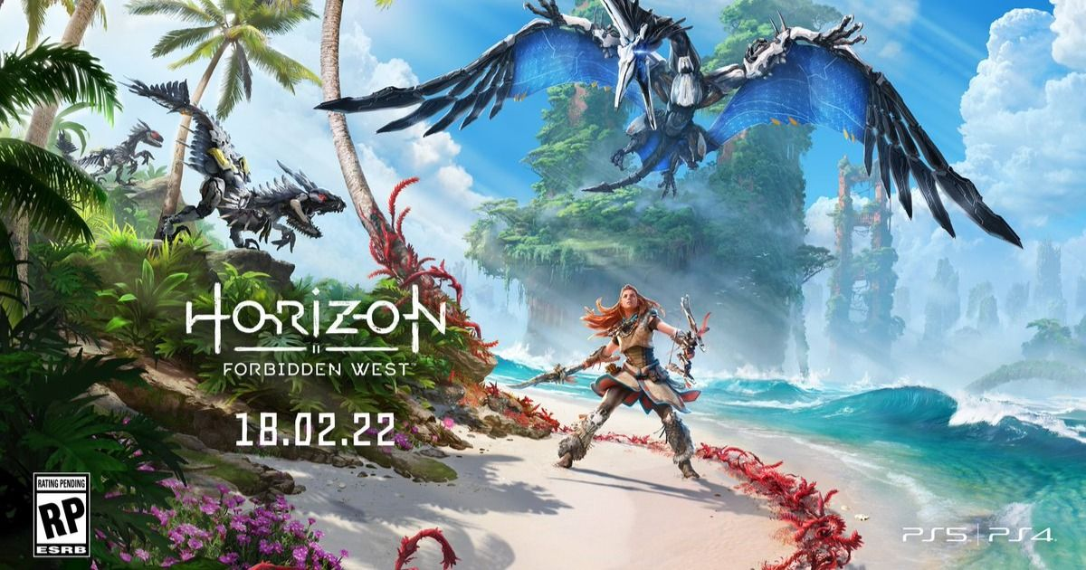 Horizon Forbidden West, PS4 and PS5