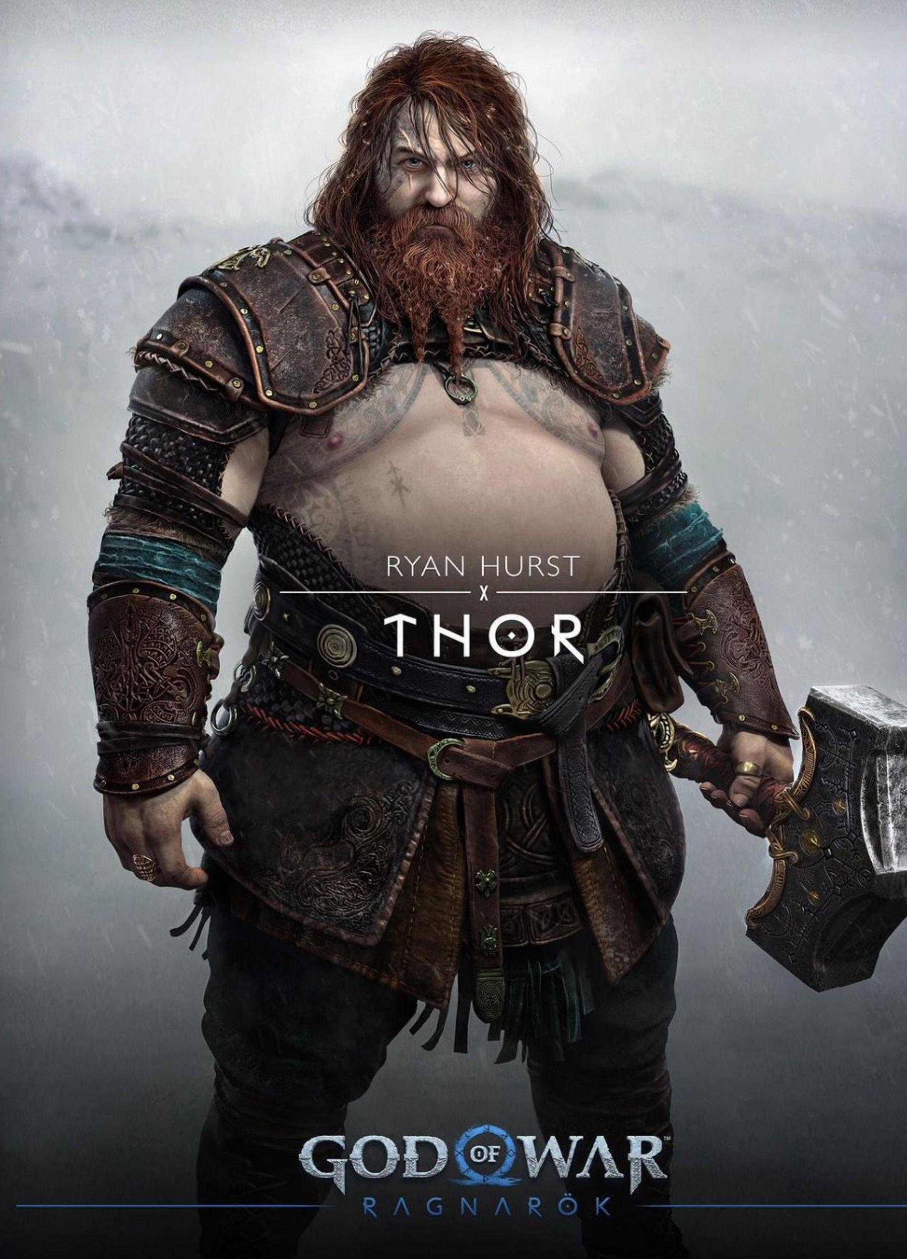 Thor God of War Rangarok