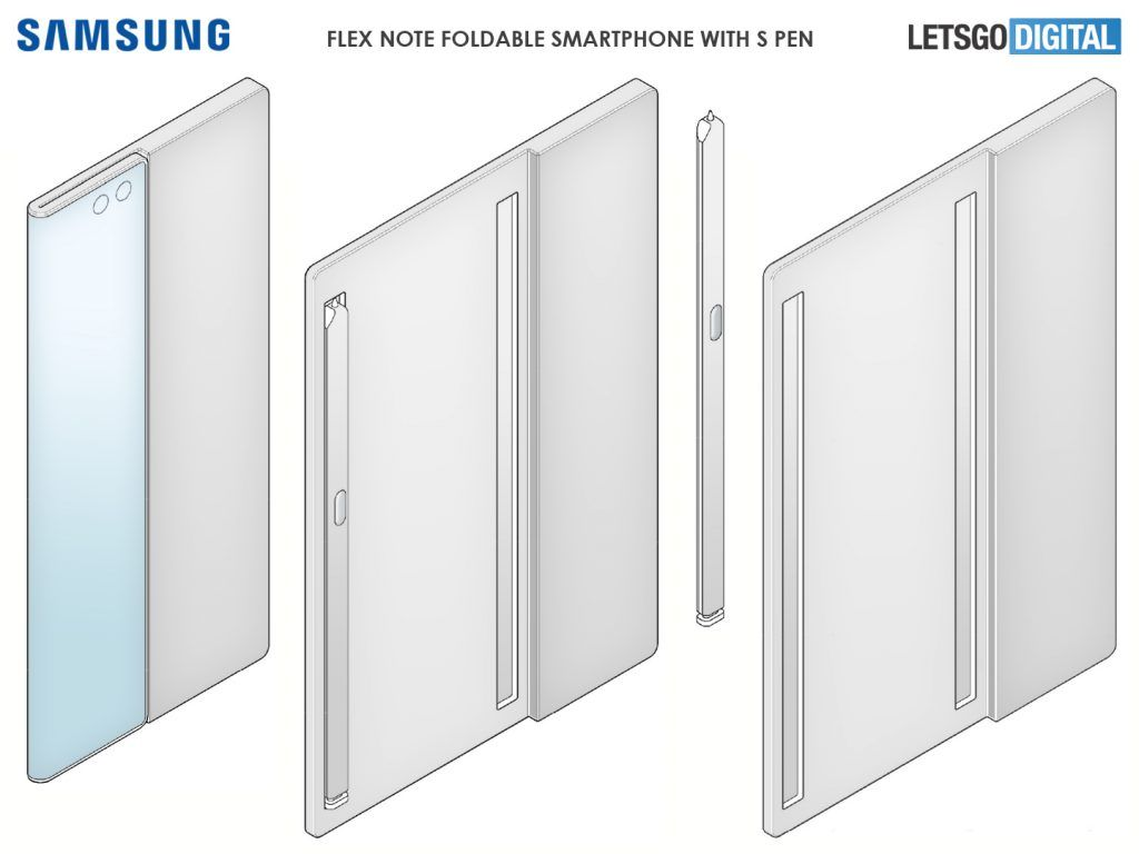Samsung Galaxy Flex Note has a chamber for S Pen